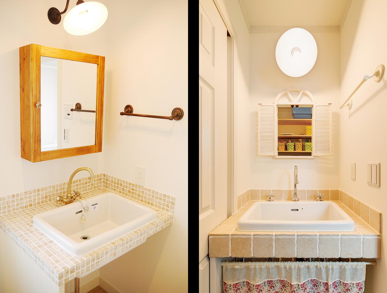 洗面スペースの写真